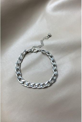 Срібний браслет з ланцюжком