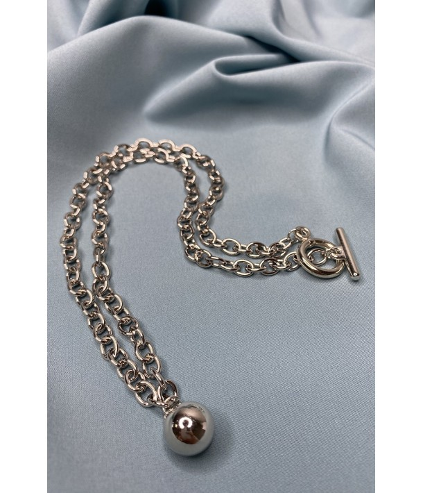 Ланцюжок срібний з підвіскою