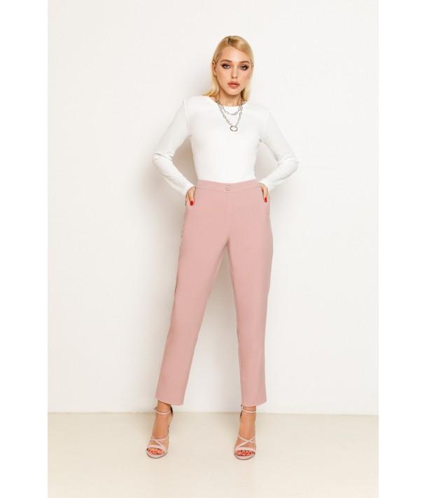 Фрезові жіночі прямі брюки
