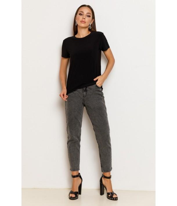 Сірі завужені джинси